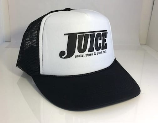 Juice Pools Pipes and Punk Rock Hesh Hat