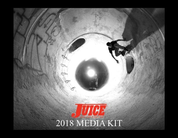 Juice Magazine Media Kit 2018