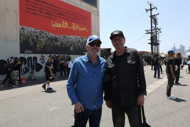 Wynn Miller and Mr. Landau. Photo by Dan Levy © Juice Magazine