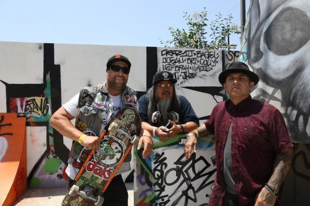 EZ of The Fakies, Jeff Ho, Christian Hosoi Photo Dan Levy Juice Magazine
