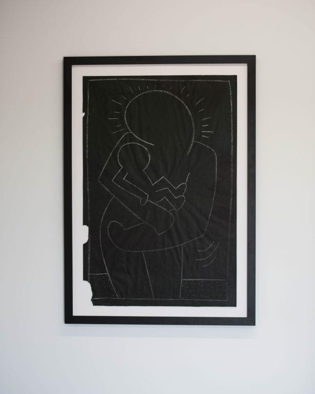 Keith Haring @BeyondTheStreetsArt. Photo by Chris Hooten
