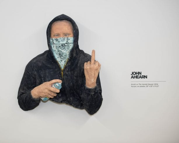 John Ahearn art @beyondthestreetsart Photo by Chris Hooten