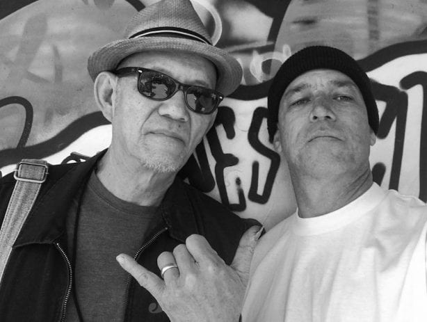 Gary Wong and Aaron Murray. Photo by Aaron Murray