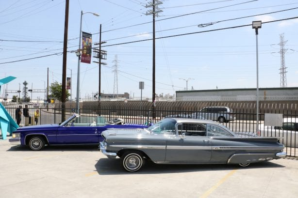 Classic SoCal Lowriders. Photo by Kelly Jackson
