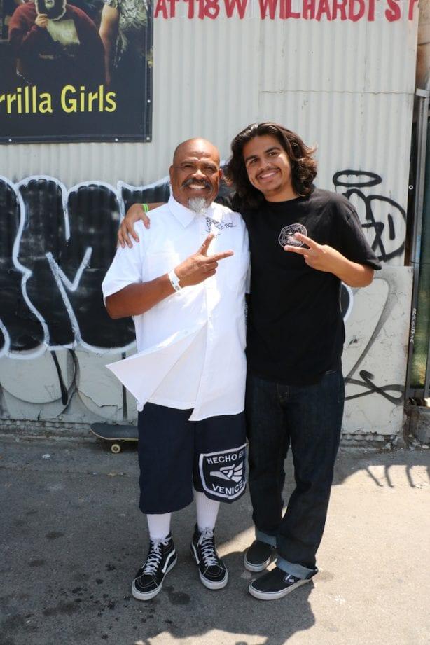 Oscar Galan and his son, Isaac Galan.Photo by Kelly Jackson
