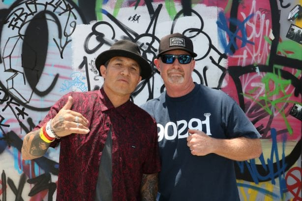 Christian Hosoi, Brian Cullen. Photo by Kelly Jackson