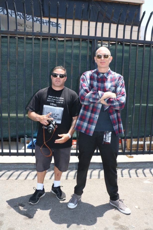 "Josh ""Bagel"" Klassman and Dante Ross.Photo by Kelly Jackson"