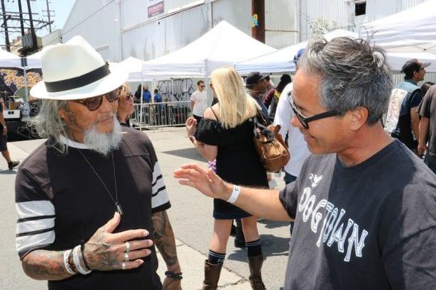 Pops Hosoi and Masao Miyashiro.Photo by Kelly Jackson