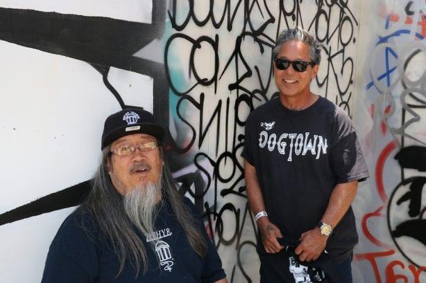 Jeff Ho and Masao Miyashiro.Photo by Kelly Jackson