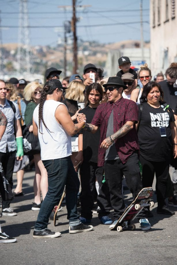 Rich Sanchez, Tye Trujillo and Christian Hosoi. Photo by Chris Hooten