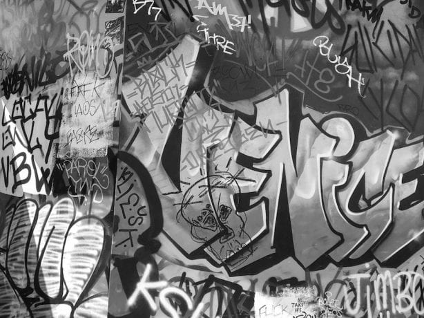 O.G. Tags. Photo by Aaron Murray