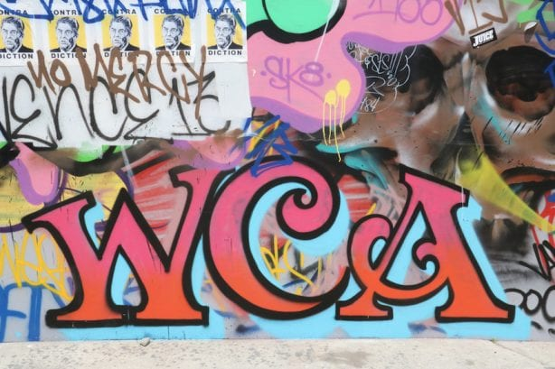Street Art in the Venice Pavilion recreation. Photo by Kelly Jackson