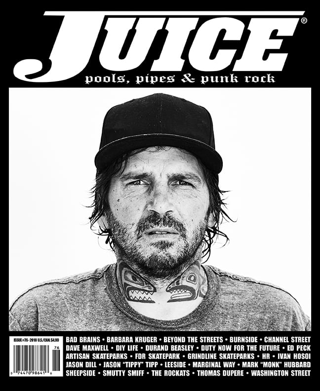 Juice Magazine 76 Mark Monk Hubbard Cover