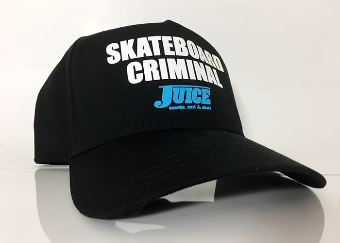 Baseball Hat Black - Skateboard Criminal
