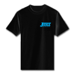 Juice Pools Pipes and Punk Rock Blue Special Ops Black Short Sleeve Tshirt