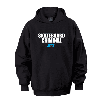 Juice Skateboard Criminal Pull Over Hoodie