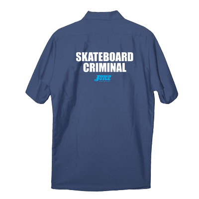 Juice Skateboard Criminal Work Shirt