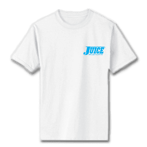 Juice Pools Pipes and Punk Rock Blue Special Ops White Short Sleeve Tshirt