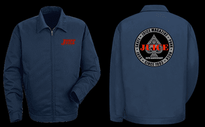 JUICE 25 YEAR ANNIVERSARY SILVER ACES JACKET
