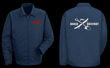 JUICE BUILD X DESTROY JACKET