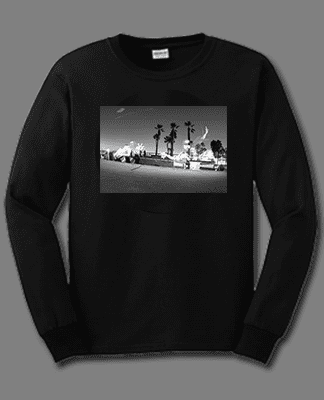 Juice Photo Dan Levy - Bennett Harada Grind - Long Sleeve - Black