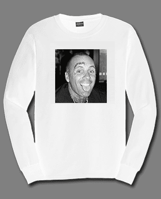Juice Photo Dan Levy - Jay Adams Portrait - Long Sleeve - White