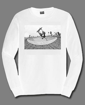 Juice Photo Dan Levy - Jesse Martinez Invert - Long Sleeve - White