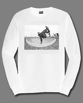 Juice Photo Dan Levy - Tuma Invert - Long Sleeve - White