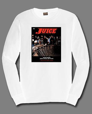 Juice Cover 50 Sloppy Sam Long Sleeve White