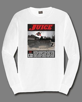 Juice Cover 72 Greyson Fletcher Long Sleeve White