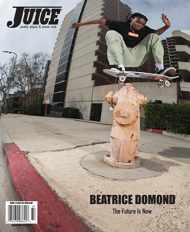 Juice Magazine 77 Beatrice Domond Cover by Mike OMeally