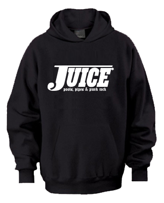 Juice Pools Pipes and Punk Rock Hoodie Black Lightning