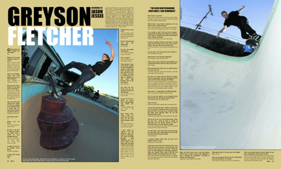 Greyson Fletcher - Juice Magazine 68