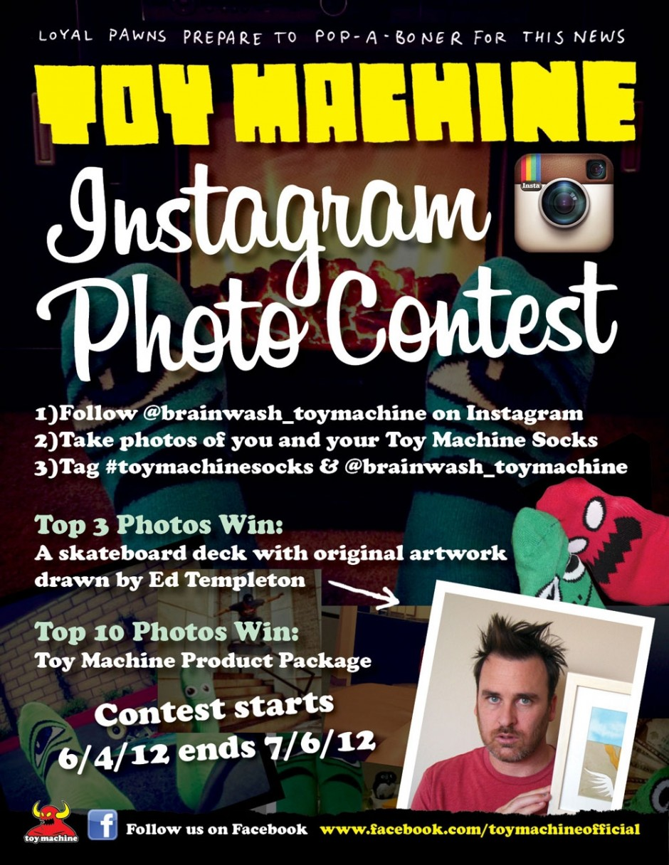 Toy Machine Instagram Contest