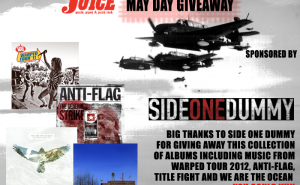 Side One Dummy Warped Tour Giveaway