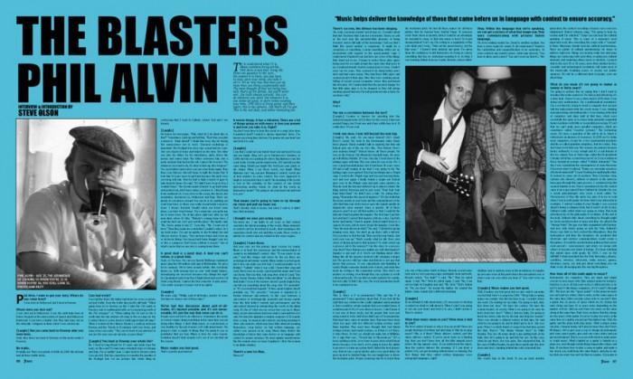 PHIL ALVIN - THE BLASTERS