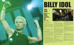 BILLY IDOL photos by Liza Leeds and Dan Levy
