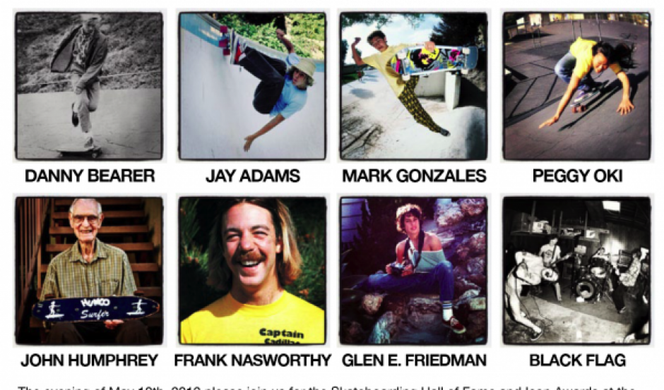 IASC 2012 Skateboarding Hall of Fame
