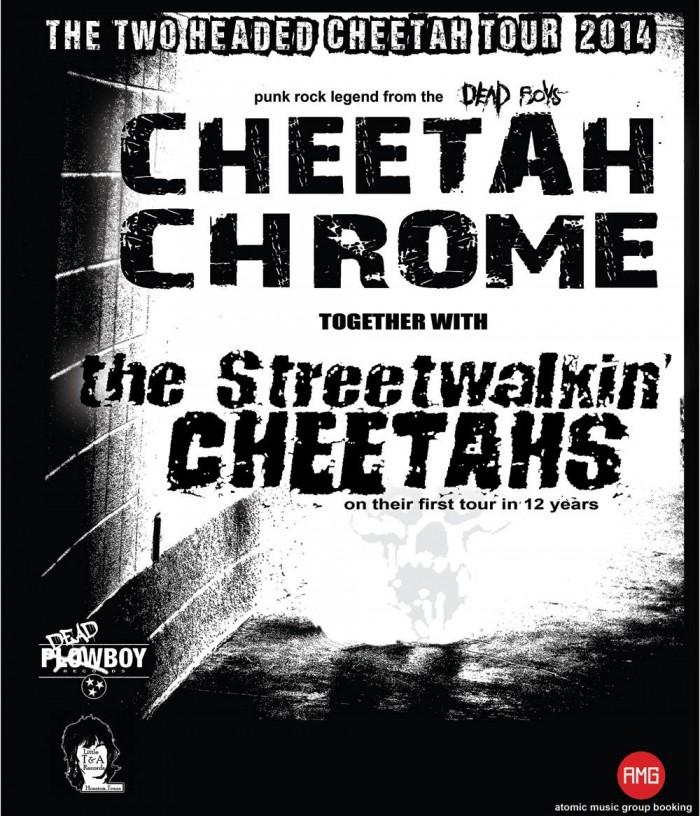 Cheetah Chrome on tour with Streetwalkin' Cheetahs and SXSW Showcase