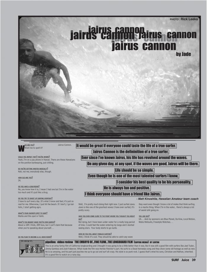 JAIRUS CANNON