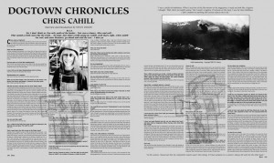 DOGTOWN CHRONICLES: CHRIS CAHILL