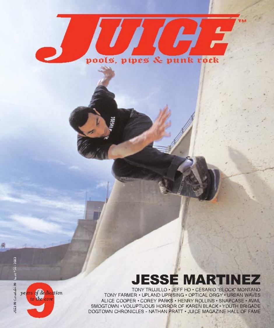 JUICE MAGAZINE 56 JESSE MARTINEZ