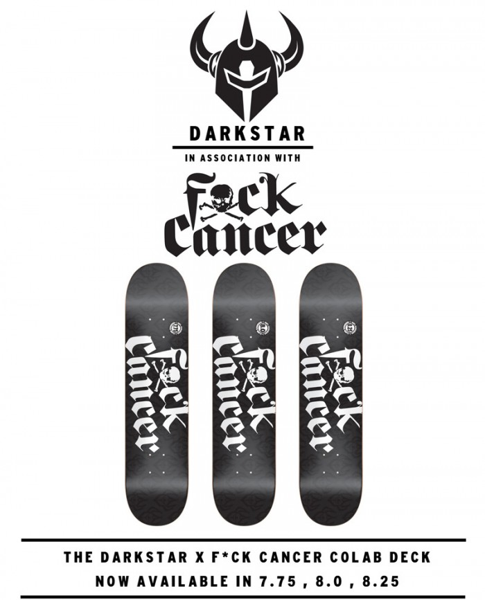 Dark Star x Fuck Cancer Collab Decks Now Available