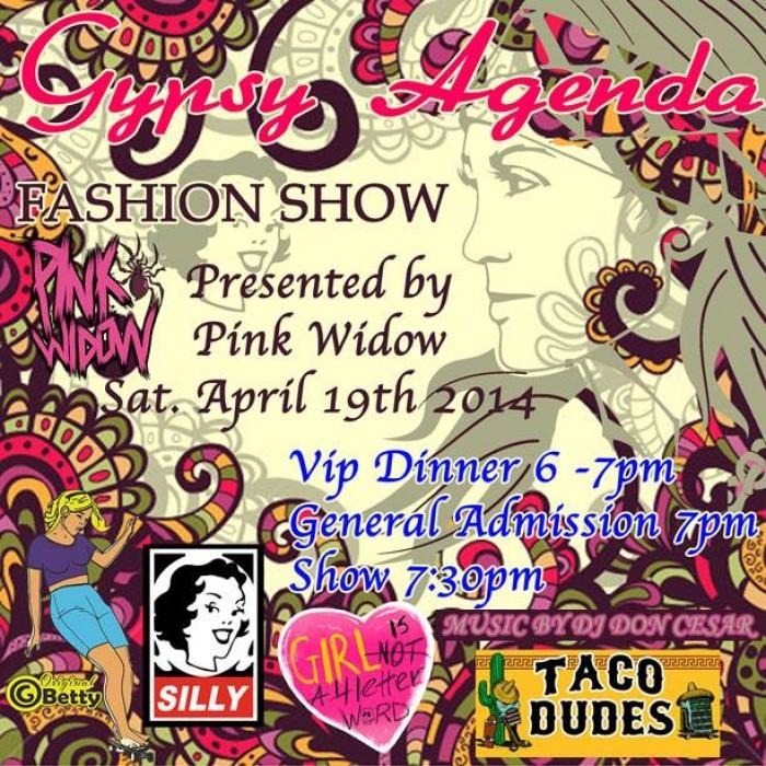 Pink Widow Gypsy Agenda Fashion Show