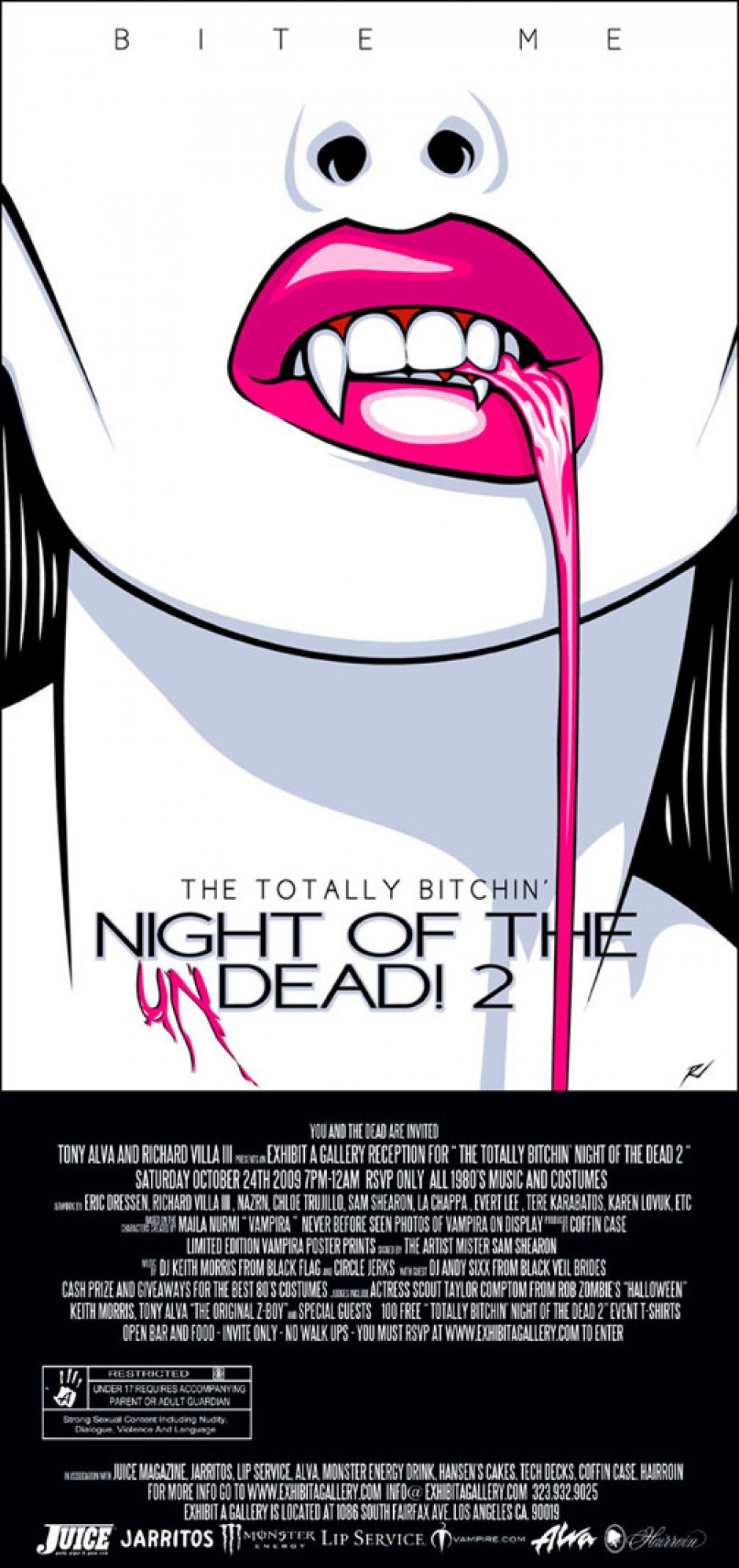 TOTALLY BITCHIN NIGHT OF THE DEAD 2