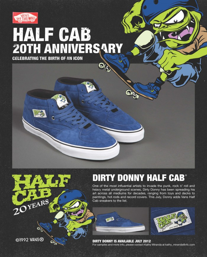 a816df45ea071c 20TH ANNIVERSARY HALF CAB – DIRTY DONNY EDITION