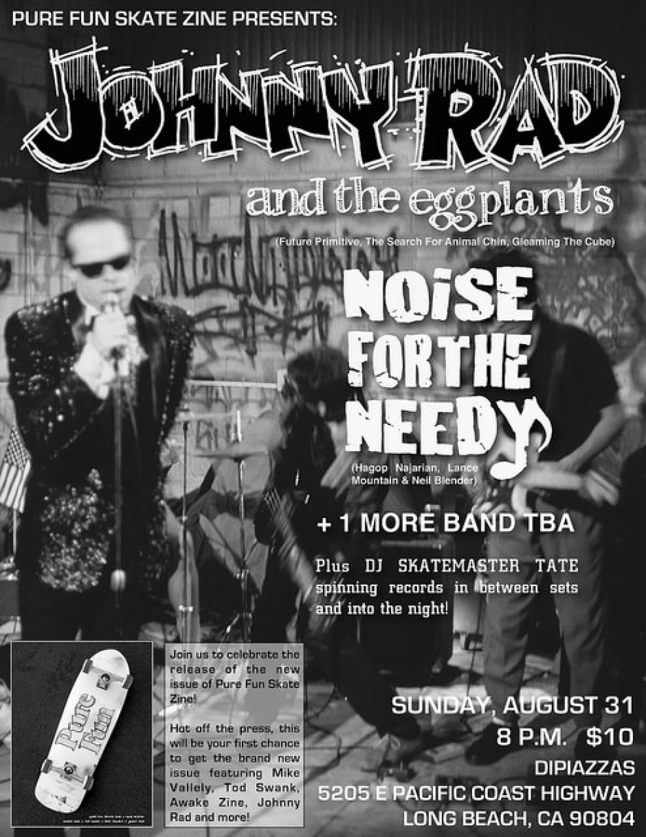 Johnny Rad and The Eggplants with Noise For The Needy