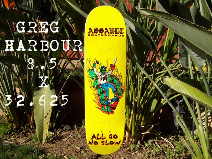 Greg Harbour Zombie Assault Skates Pro Model