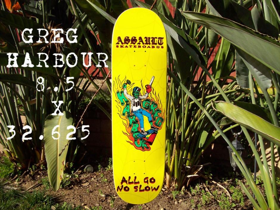 Greg Harbour Zombie Assault Skates Pro Model