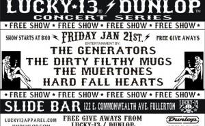 Lucky 13 Dunlop Series